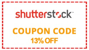 shutterstock 13 percent off